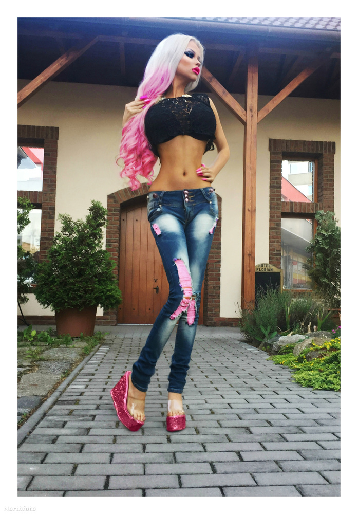 Így már jól látszik ugye, mire föl nevezheti magát ő is élő Barbie-nak?