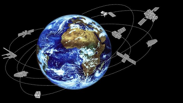 Műholdak hada figyeli a Földet minden pillanatban