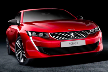 Kiszivárgott képeken az új Peugeot 508