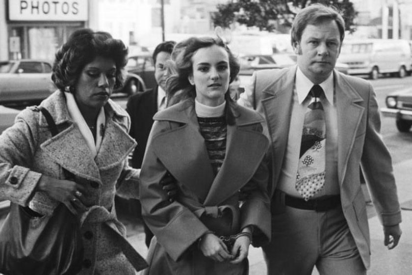 Patty Hearst letartóztatása után.