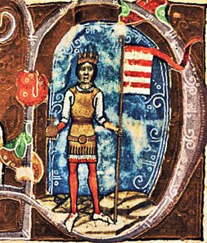 III. Béla ábrázolása a Képes Krónikában