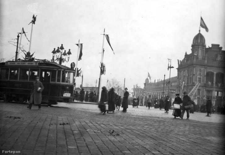 A Nyugati (Berlini) tér 1916-ban