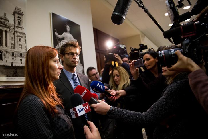 Renner Erika nyilatkozik az ítélethirdetés után