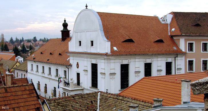 A szentendrei Polgármesteri hivatal épülete