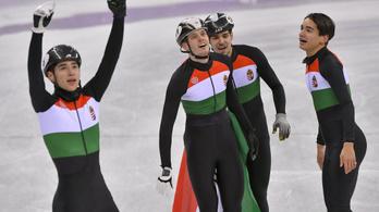 Olimpiai bajnok a magyar férfi koriváltó