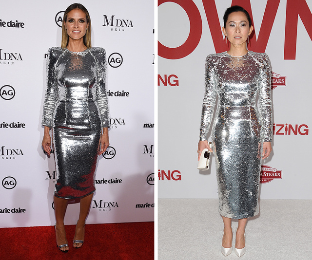 Heidi Klum vs. Hong Chau
