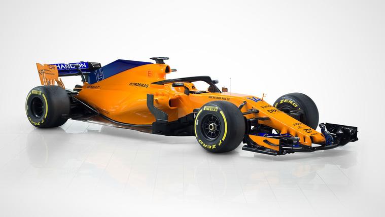 Narancs-kék lett a McLaren-Renault
