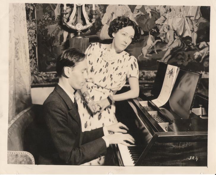 Nyíregyházi Ervin egyik feleségével 1937-ben
