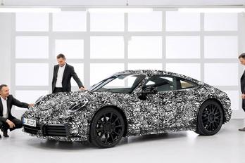 Íme, a következő 911-es Porsche