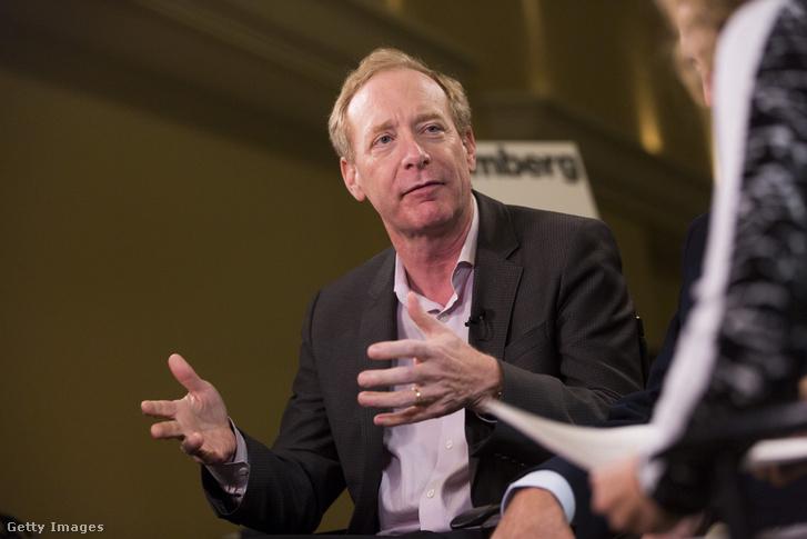 Brad Smith, a Microsoft jogi igazgatója
