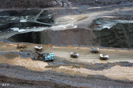 A jwanengi bánya a világ legtermelékenyebb gyémántlelőhelye (Fotó: Alexander Joe)