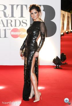 Cheryl Cole a Brit Awards díjkiosztón
