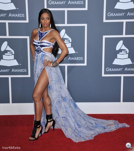 Ciara, szintén a Grammy-díjkiosztón
