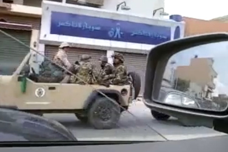 Ők is valószínűleg zsoldosok (forrás: Al Jazeera English Blog)