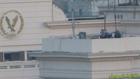 Orvlövészek Tripoli háztetőin