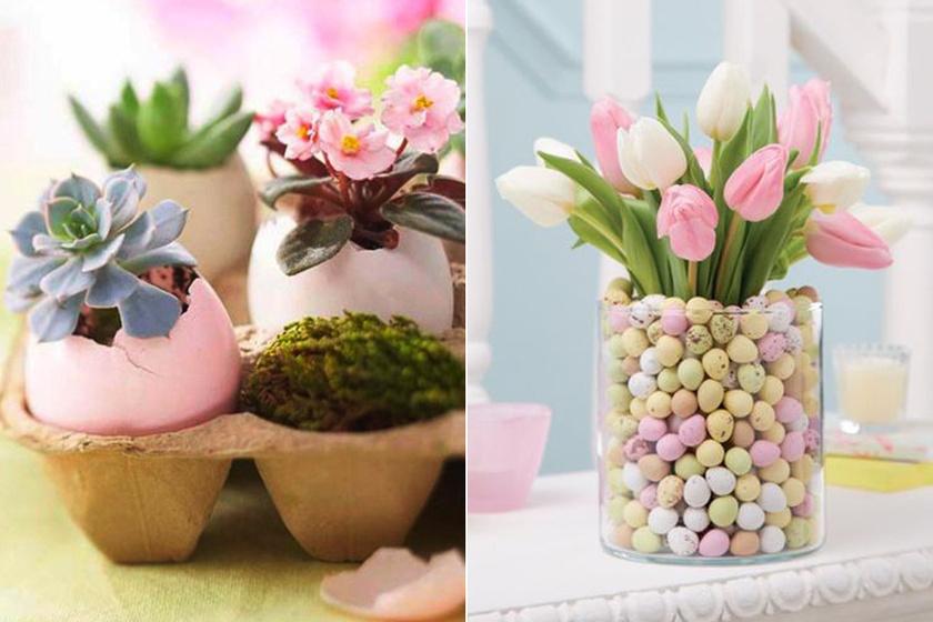 Gyönyörű húsvéti asztaldíszek, melyek könnyen elkészülnek - Imádni valók