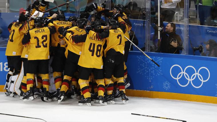 Az olimpia eddigi legnagyobb csodája a német hokicsapaté