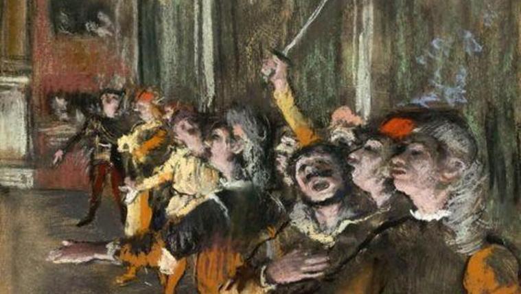 Csomagtartóból került elő egy 800 ezer eurós Degas-festmény