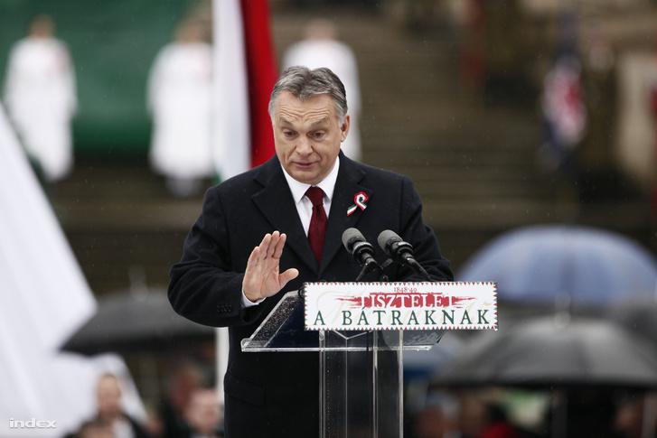 Orbán Viktor 2016 március 15-én