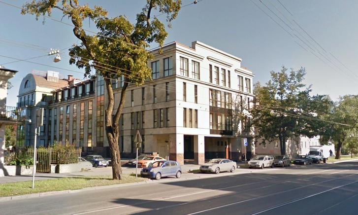 Az IRA központja a Google Street View képén