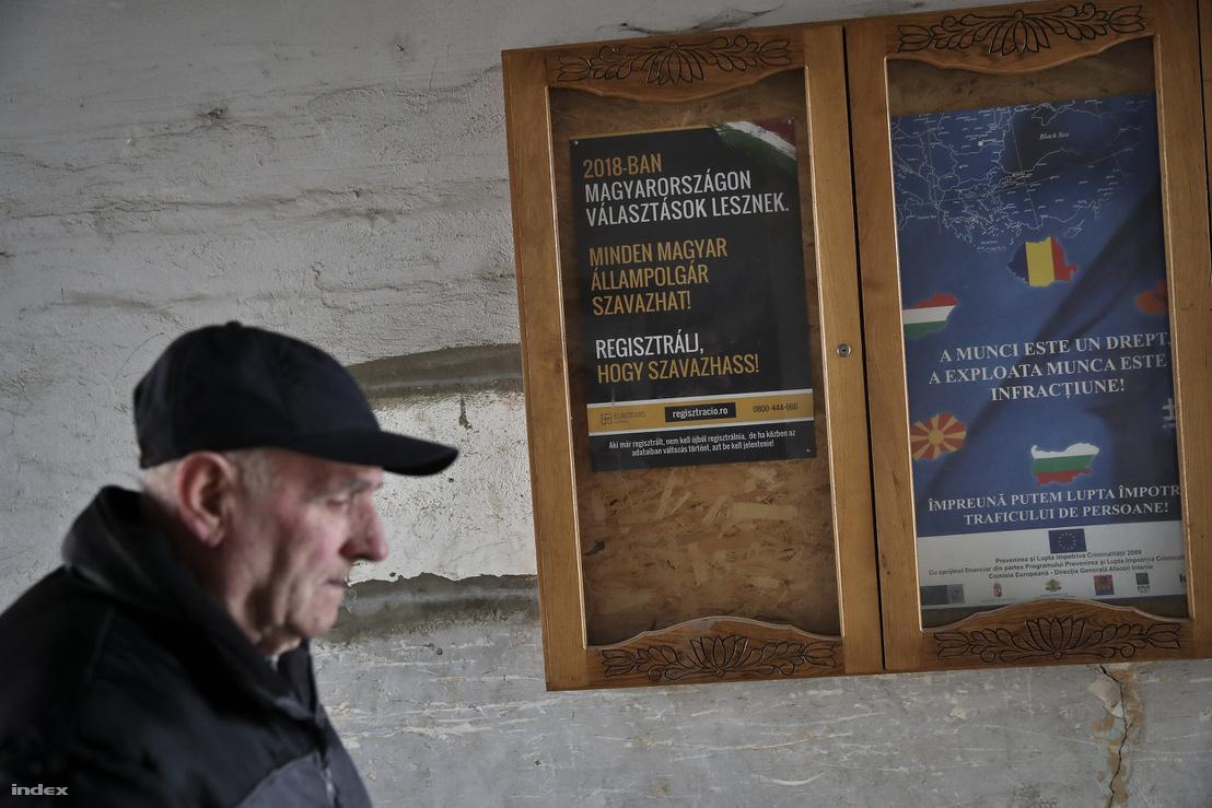 Választási plakát Székelykeresztúron