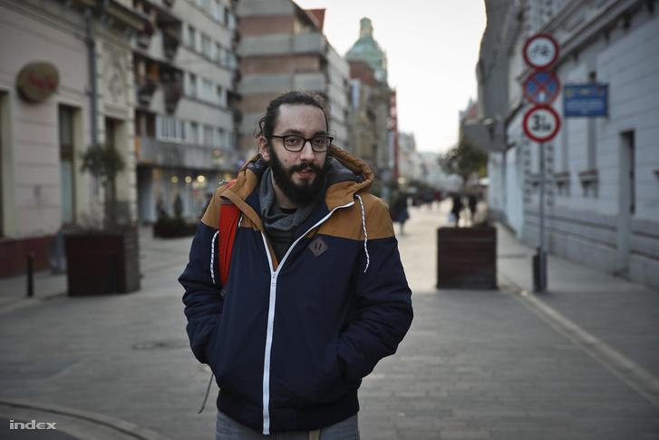 Sándor Levente Nagyváradon