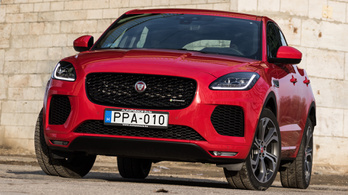 Teszt: Jaguar E-Pace P250 First Edition – 2018.