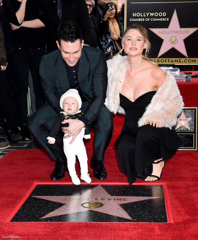 Az apuka rocksztár, sőt, egyszer a világ legszexibb férfijának választották, az anyuka meg modell