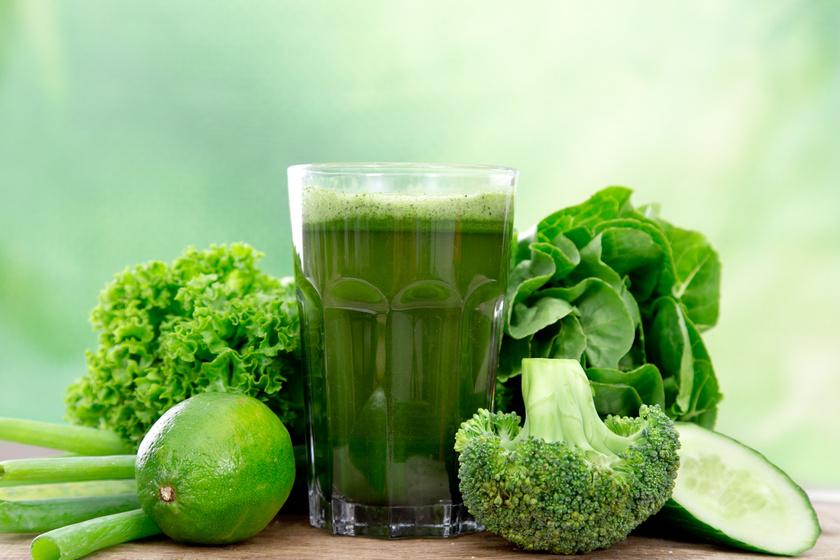 brokkoli kel uborka turmix