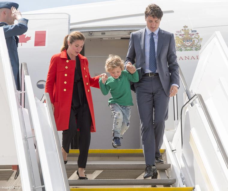El kell ismernünk, hogy talán túl sok időt és energiát fektettünk eddig György herceg ténykedéseinek közlésébe, ezért majdnem észre sem vettük, hirtelen micsoda kihívója akadt a kanadai miniszterelnök, Justin Trudeau három éves kisfia, Hadrien személyében
