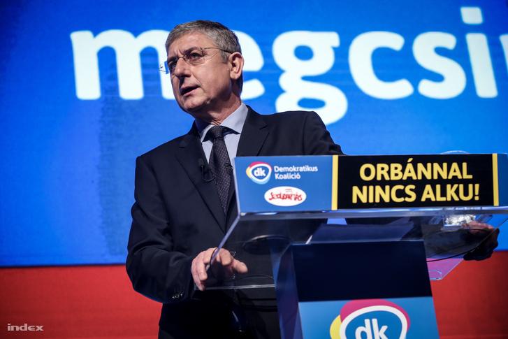 Gyurcsány Ferenc, a DK elnöke
