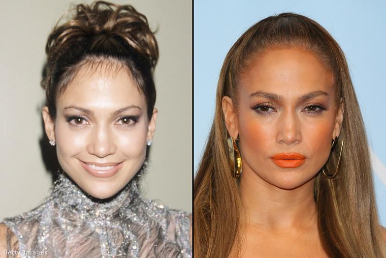 Jennifer Lopeznek pedig még a tekintetét is mintha kicserélték volna