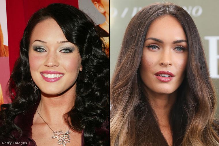 A baloldali Megan Fox még nem volt túl híres, mikor a fotó készült róla, cserébe rendkívül trendinek számított ezzel a szemöldökkel
