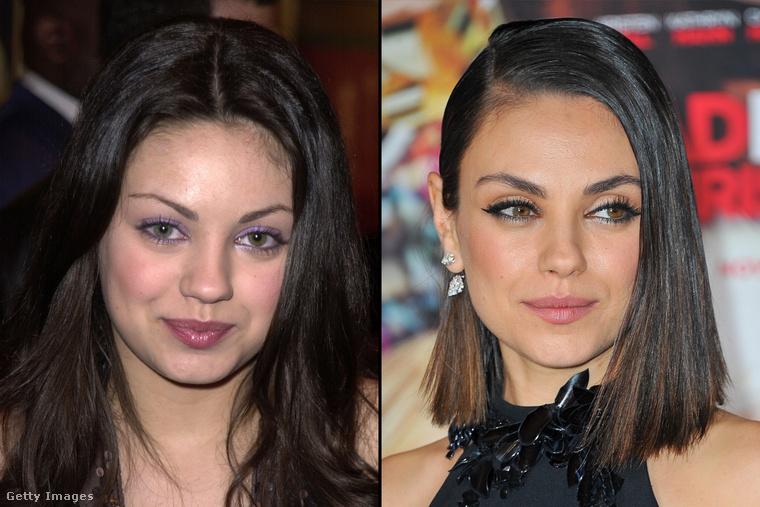 Mila Kunis esetében viszont még jobban látszik, mit jelent a csipesz hanyagolása