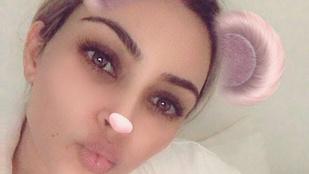 Kim Kardashian végre megmutatta újszülött kislányát