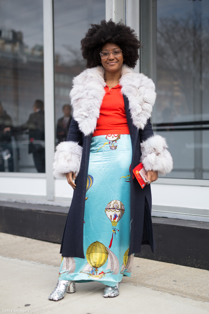 Szerettük ezt a léggömbös szoknyát New Yorkban.