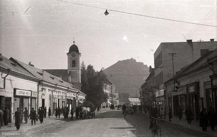 Az autonóm Kárpátalja székhelye, Huszt 1939-ben.