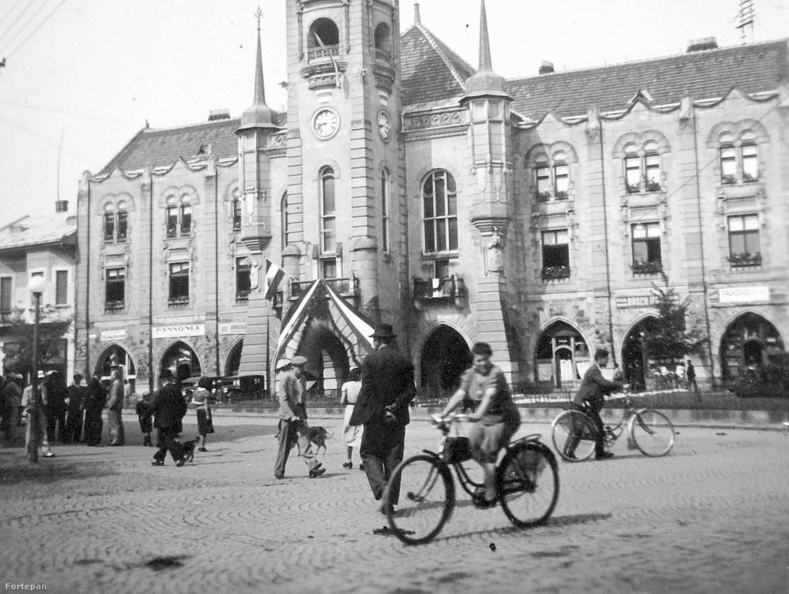 Munkács 1938. november 2-án visszakerült Magyarországhoz.