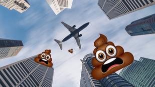 Balul is elsülhet, ha a repülőn vécézek?