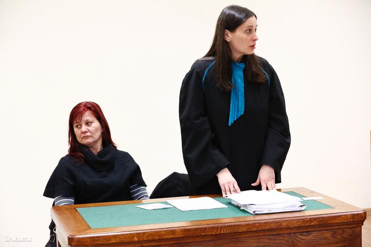 Pruck Pál lánya és a család ügyvédje