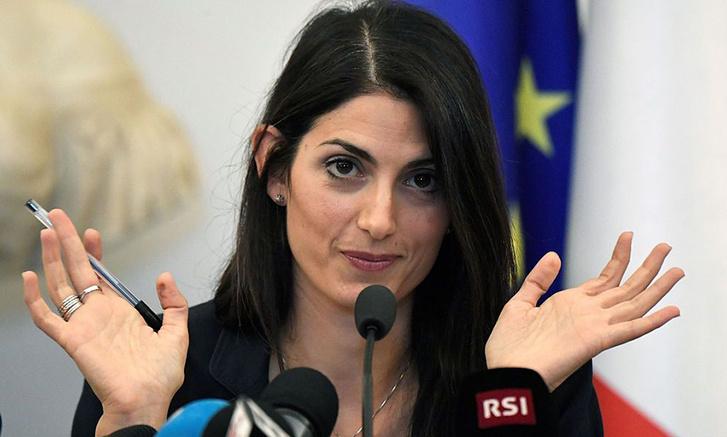 Virginia Raggi, Róma polgármestere