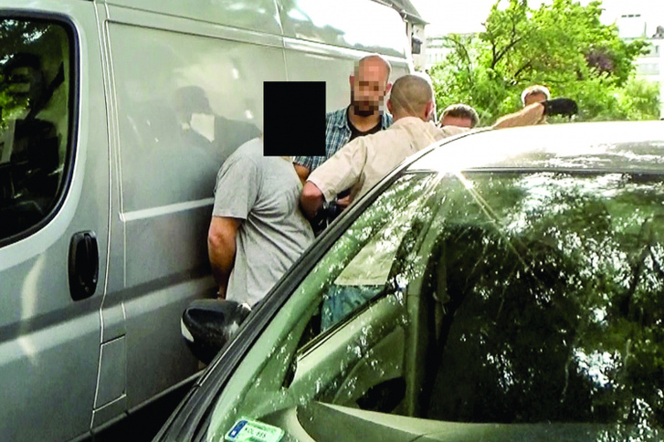A vádlottak elfogása 2017 júliusában