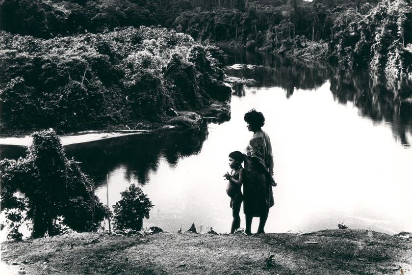 Kilátás az Erebato folyóra, Yecuana, 1961-62