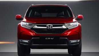 Dízel nélkül érkezett Európába az új Honda CR-V