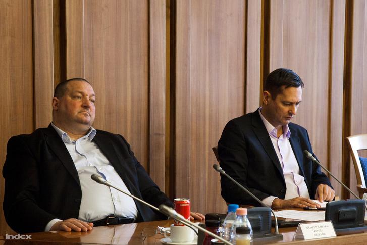 Németh Szilárd a Nemzetbiztonsági Bizottság ülésén