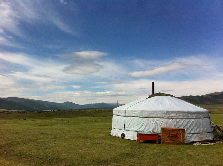A mongol sztyeppe