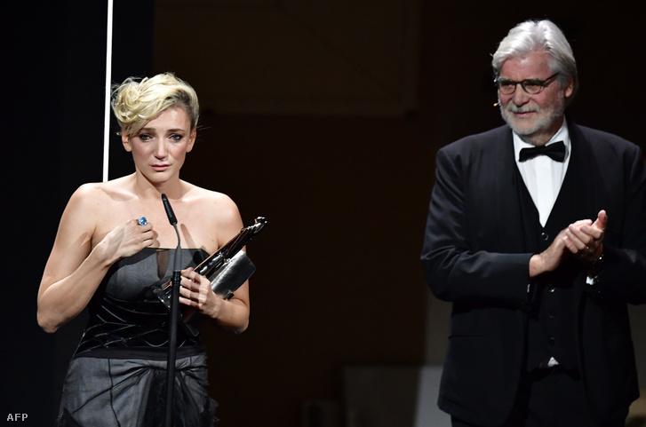 Borbély Alexandra a legjobb európai színésznőnek járó elismeréssel a Berlini Filmszemlén