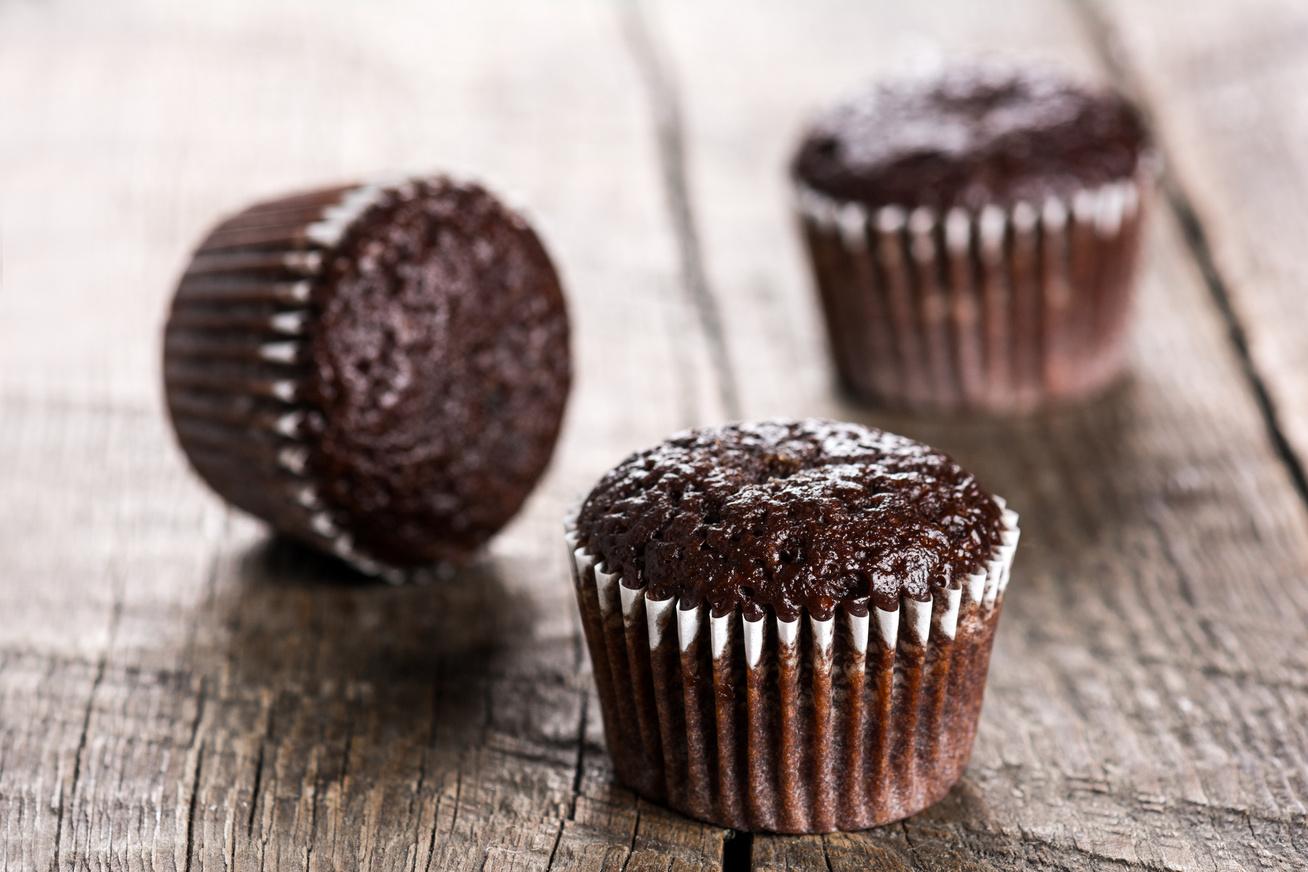 Paleo csokis-banános muffin - A tésztája fantasztikusan könnyű