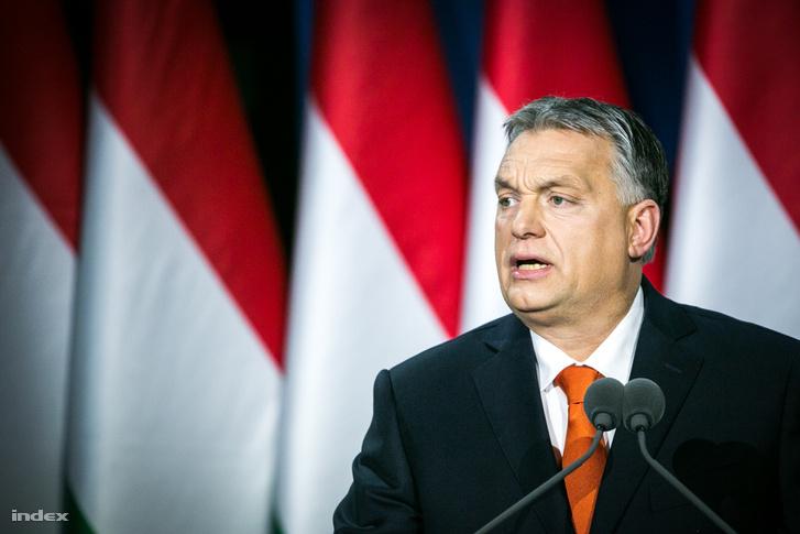 Orbán Viktor évértékelő beszéde