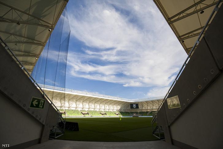 A szombathelyi Haladás sportkomplexumának futballpályája